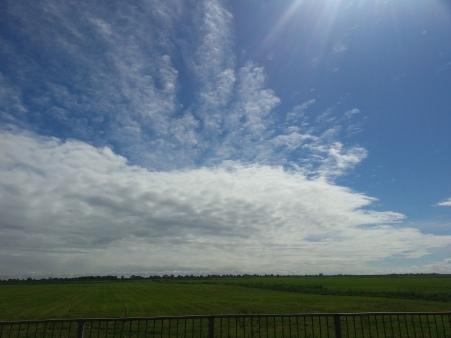 More sky...