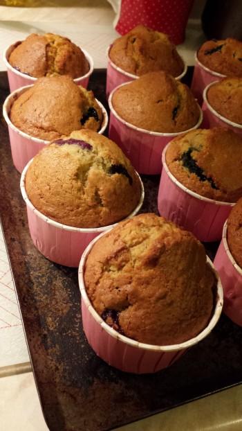 ...tuffty puffty fruity blueberry muffins..