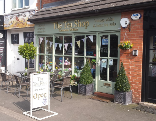 The Tea Shop - 91 Hewell Road, Barnt Green, B45 8NL