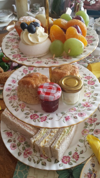 ...my afternoon tea in all its glory...