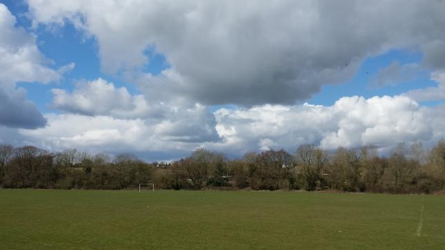 ...beautiful clouds...