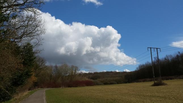 ...more beautiful clouds...