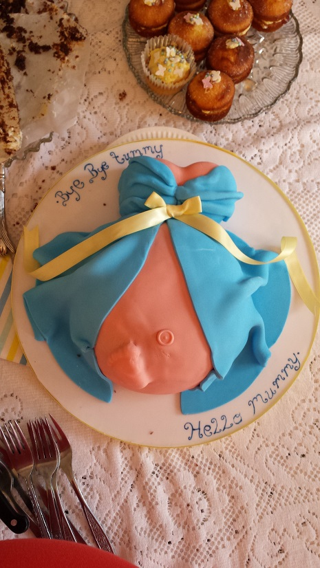 ...belly cake...